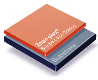 zowo-plast single layer coating